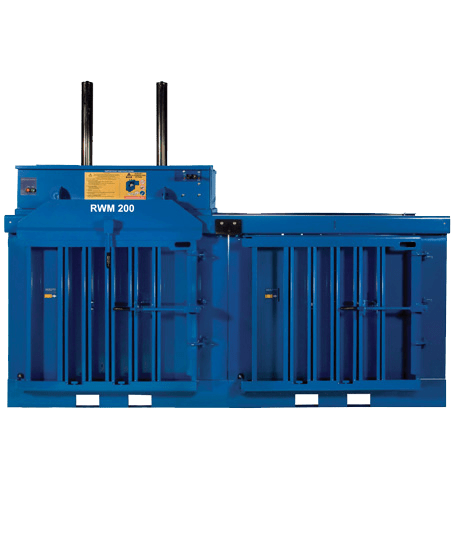 RWM 200 Multi Chamber Waste Baler