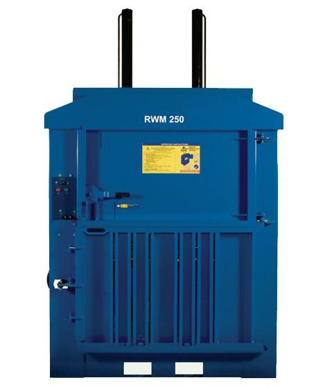 RWM 250 Mid Range Waste Baler