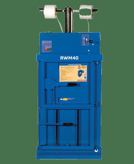 RWM 40 COMPACT WASTE BALER