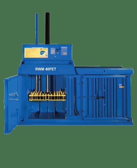 RWM 40 PET Compact Waste Baler