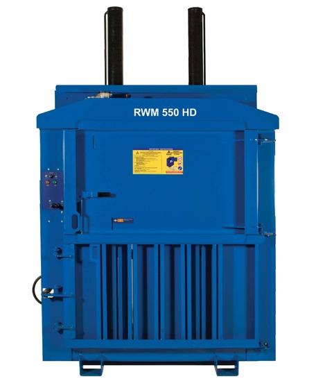 RWM 550 Heavy Duty Waste Baler
