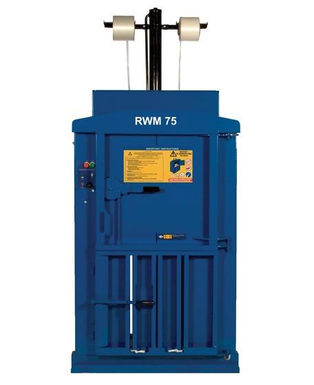 RWM 75 Compact Waste Baler