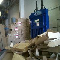 Riverside waste baler enhances recycling capabilities of social initiative