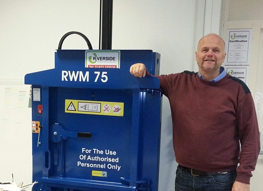 From the archives: Print business chooses Riverside baler