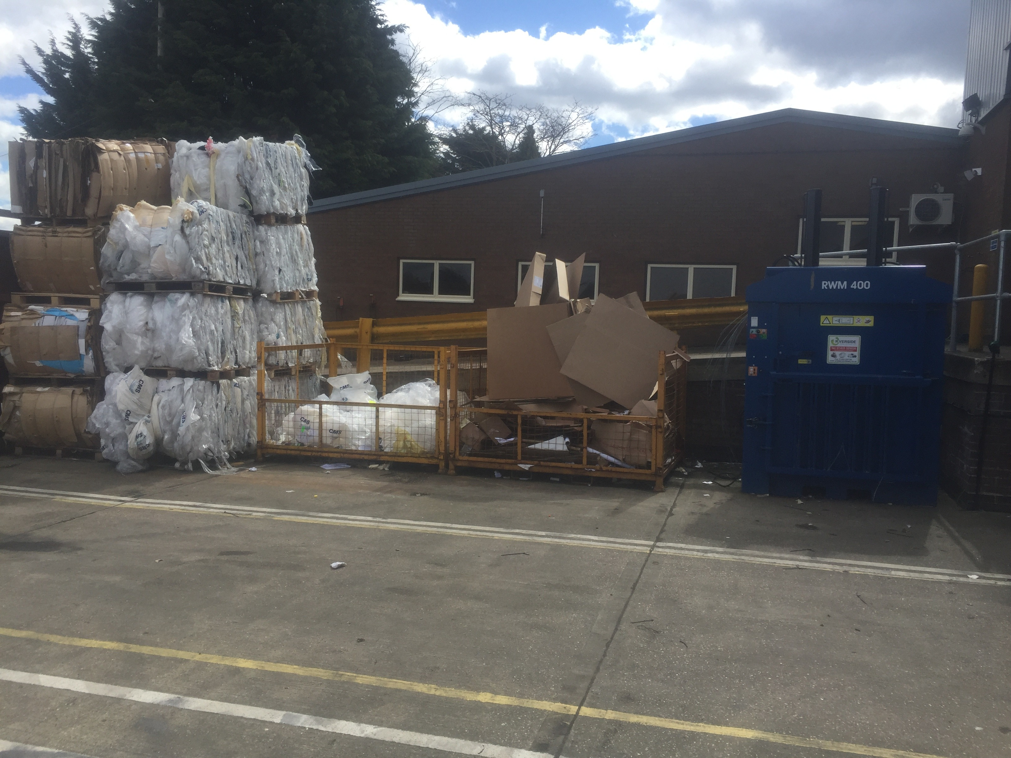 Secured Mail introduces new recycling station