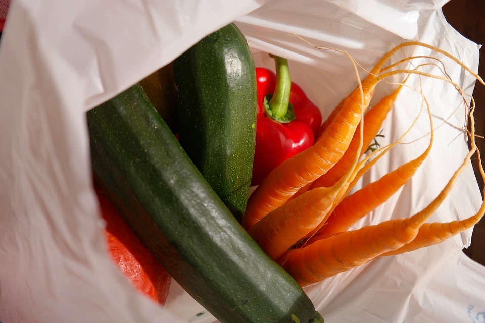 Plastic bag charge reaps results