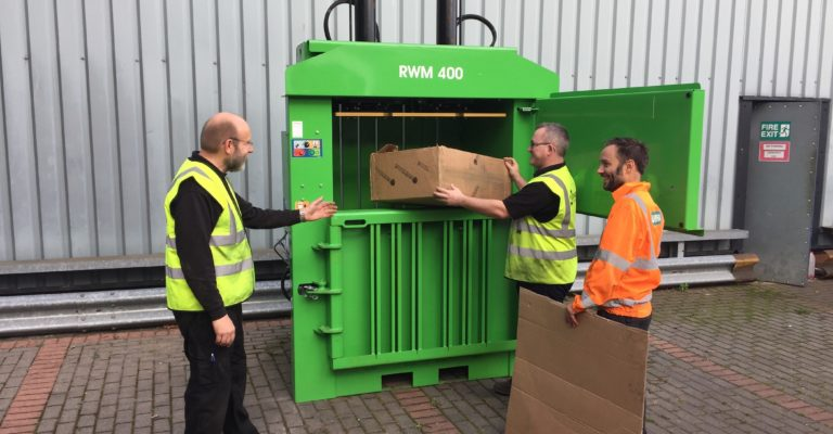 Riverside Waste Machinery - baler operator training