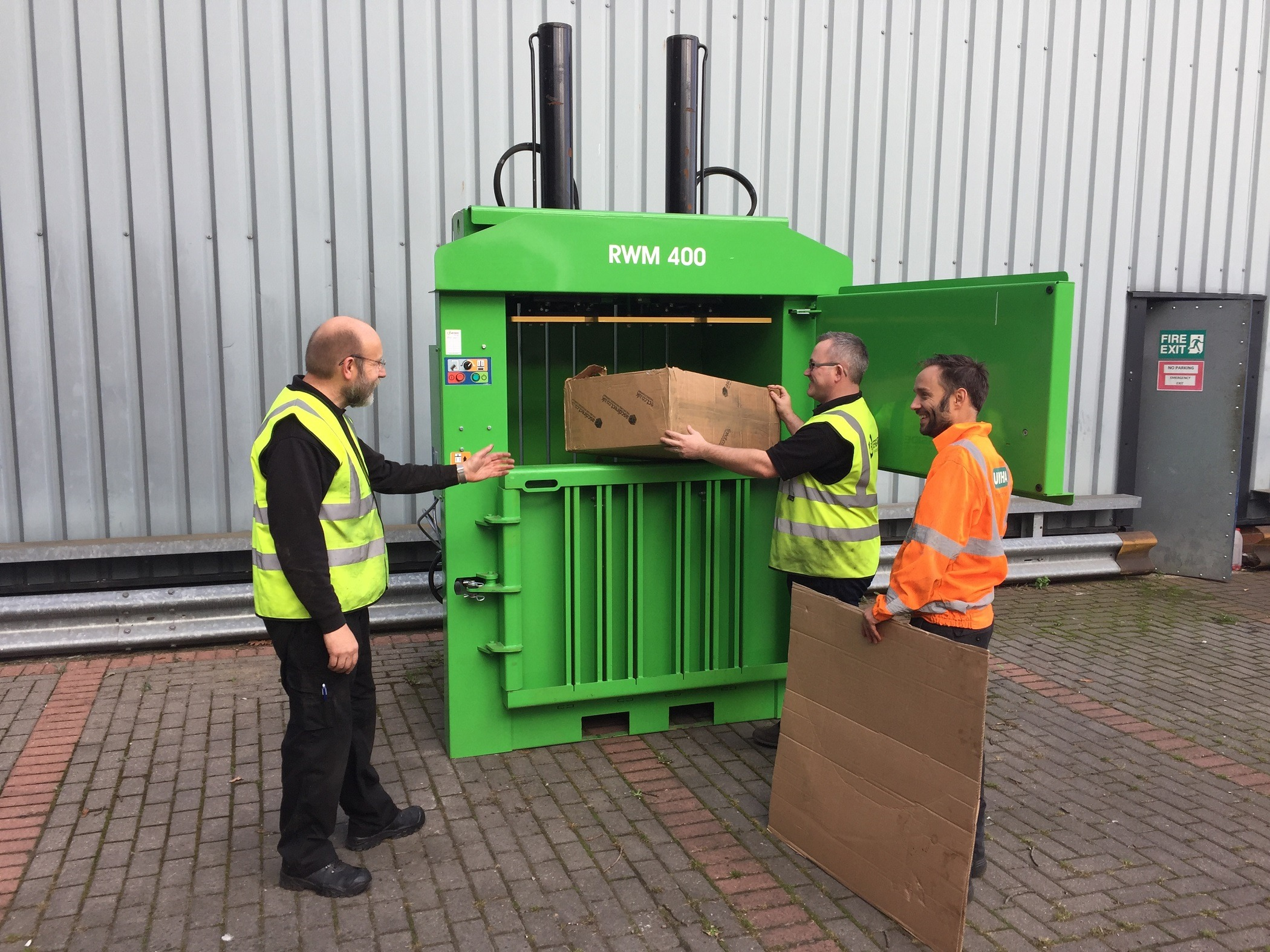 Waste baler training boosts skill-sets and safety