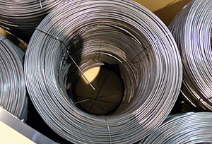 Rewound black annealed baling wire – 45KG