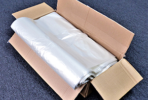 Clear Polythene Sacks