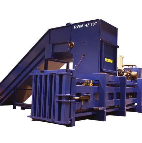 RWM HZ70 Horizontal Waste Baler