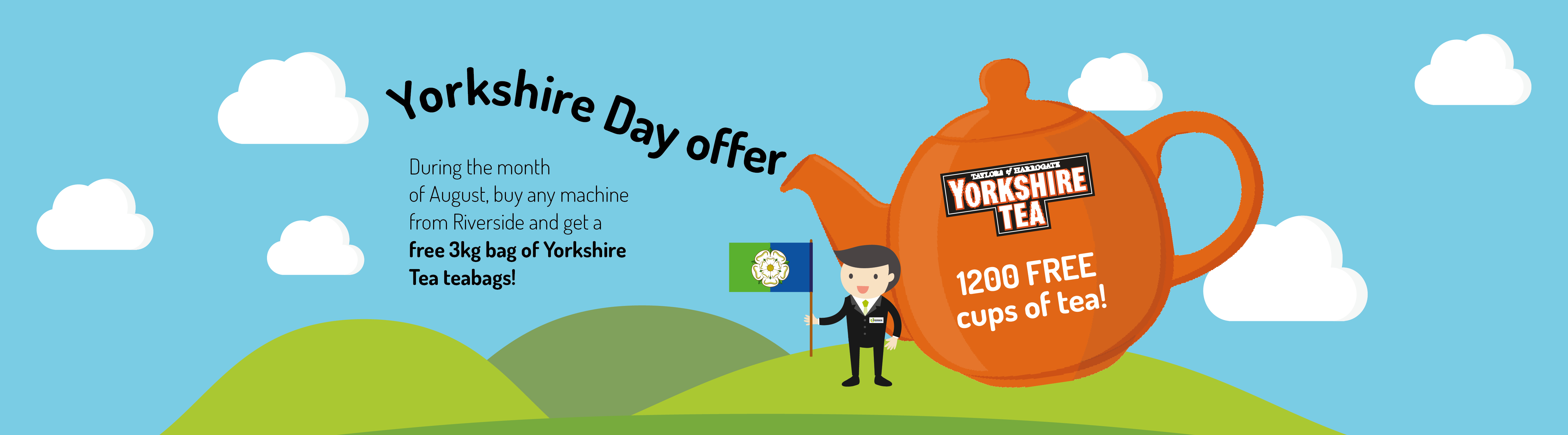 Fancy a brew? Free Yorkshire Tea on offer during August!