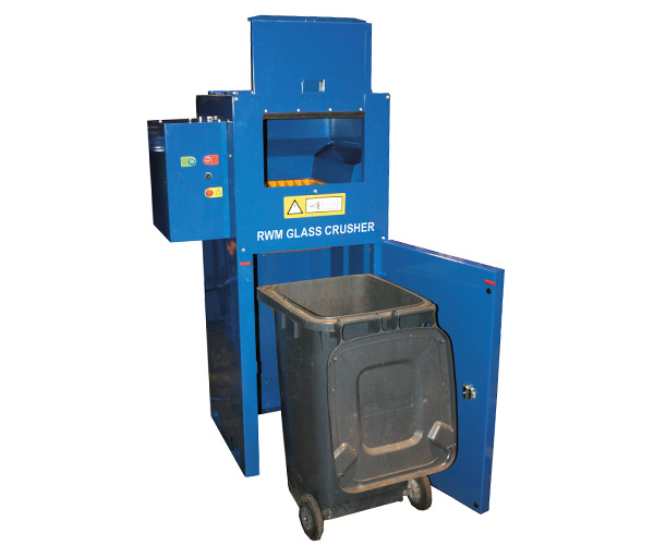 Baler of the month – October – RWM Glass Crusher