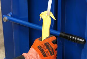 Baling tape safety knife