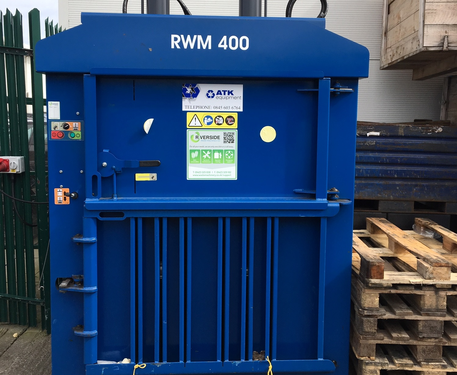 Global manufacturer introduces baling to business